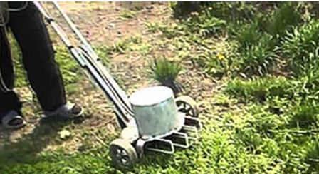каркас для газонокосилки