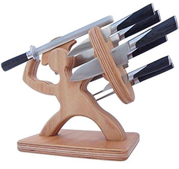 деревянный блок для ножей