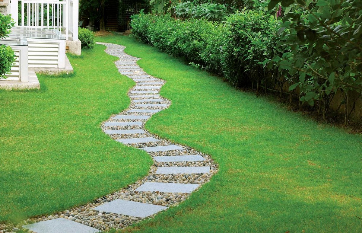 садовая дорожка змейка