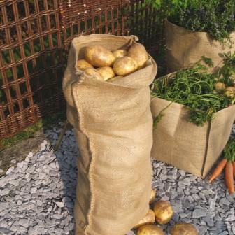 джутовый мешок для овощей